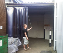 Sliding PVC Curtain